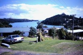 Uitzicht over de baai
